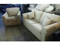 New amelia sofa bed and armchair only £200