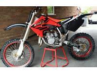 Honda cr 85 breaking engine