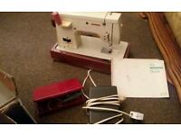Electric sewing machine & acsessories