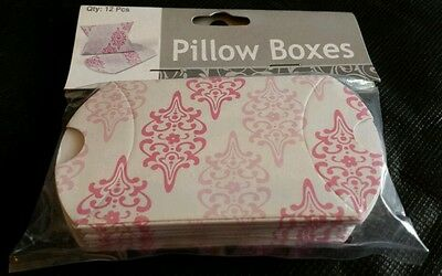 LOT OF 12 CHERRY BLOSSOM GIFT BABYSHOWER BRIDAL PILLOW BOXES - Cherry Blossom Baby Shower