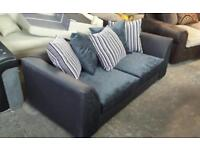 New 3 seater sofa with scatter chusions only £160