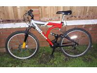 Adults front suspension bike. Can deliver