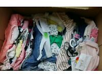 Baby girl clothes 0-12 months (bundle)