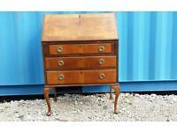 Solid wood vintage antique bureau desk CAN DELIVER