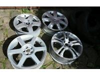 Job lot of alloy wheels + tyres