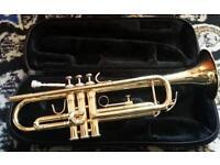 Jupiter Brass Trumpet with Case - Works fine