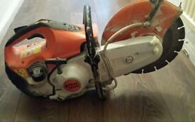 Stihl ts 410 like brand new ...runs excellent newer model