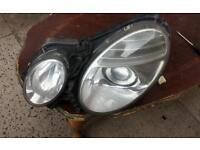W211 e class headlight facelift