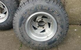 Suzuki vitara jimny wide wheels and tyres offroad 4x4