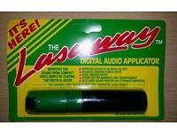 Lasaway digital audio aplicators. Job lot