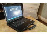 Toughbook cf53 mk4 Touchscreen laptop 8gb Ram 250 SSD Rrp £1295
