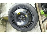 Space saver wheel astra