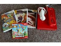 Nintendo Wii, Controller, Nunchuck and Games