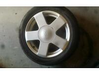 Ford Fiesta Alloy wheel