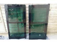 Vw transporter t5 genuine sliding windows pair