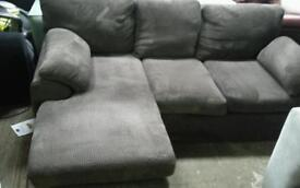 Rebecca chases 3 seater sofa plus 2 seater sofa in brown cord