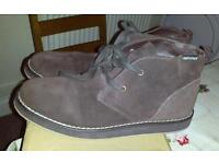 Brown adult boots size 9.5 new