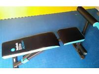 Adjustable weights bench as new