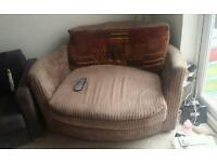 Swivel cozy chair