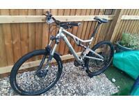 Full suspension mtb bike