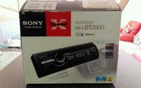 Sony xplod bluetooth car stereo