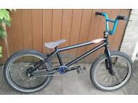 Custom bmx with 9t wheel