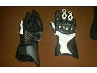 Motorcycle summer racing gloves