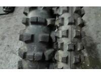 Motocross tyres 130/70/19 + 90/90/21