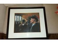 ORIGINAL PAINTING, FRAME, DRAWING, ART , PICTURE , PAINT