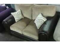 New gatsbury 2 seater sofa in brown only £155