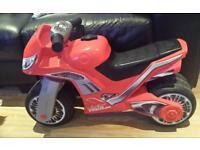 Mini motor balance bike