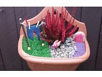 FAIRY GARDENS (WALL HANGING)