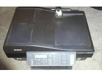Epsom photocopier scanner and fax machine