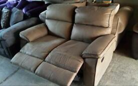 Ex display 2 seater recliner sofa only £145