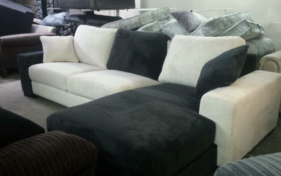 New muilti coulor large chases sofa 4 seater only £185