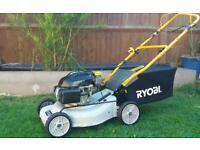 RYOBI self-propelled lawn mower