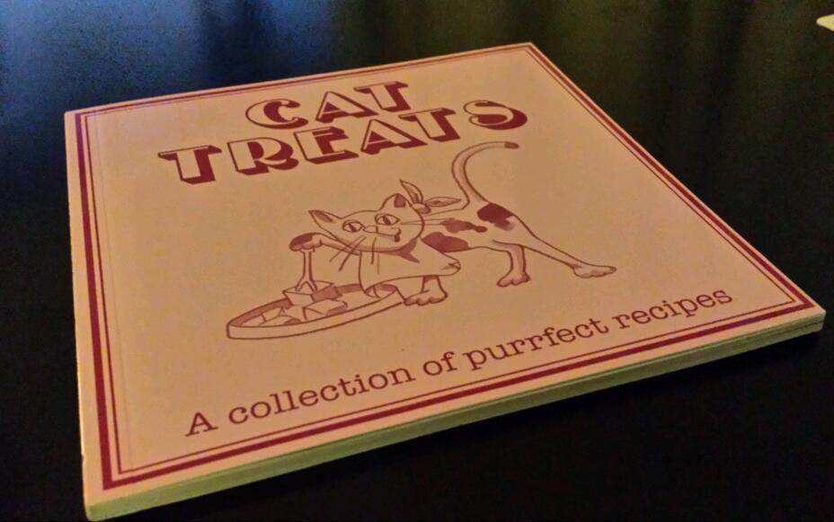 Cat treat recipe book brand new
