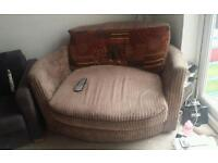 Swivel Lazy couch.
