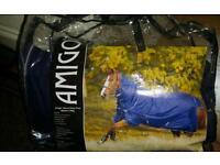 Horseware amigo 4ft pony rug with neck cover *brand new*