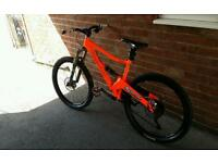 ORANGE FIVE PRO 18 INCH FRAME NEON ORANGE IMMACULATE CONDITION PX WELCOME