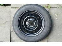 """13"""" Micra K11 wheel with Continental tyre (155/70 R13 75T CT22)"""
