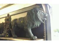 Lion garden ornament