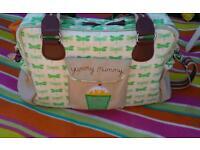 Yummy mummy changing bag