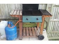 Char broil gas BBQ & 15kg gas bottle 1/2 full