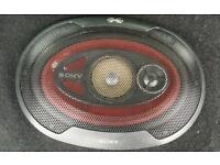 Sony Xplod 3x9 3-way Speakers
