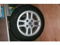 4x 4 stud Ford alloys with great tyres