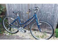 Ridgeback Motion ladies blue bike