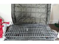 Dog crate and beds excellent condition