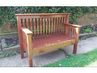 Hand made garden / conservatory/patio bench - free delivery