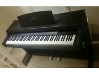Yamaha Clarinova Digital Piano Keyboard - 88 Weighted Keys